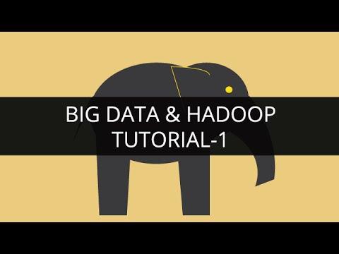 Big Data and Hadoop 1 | Hadoop Tutorial 1 |Big Data Tutorial 1 |Hadoop Tutorial for Beginners -1 - YouTube