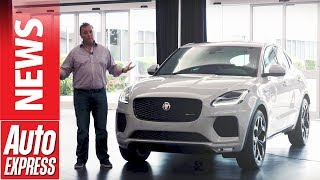 New Jaguar E-Pace revealed: tour the 'baby F-Pace'. Auto Express.