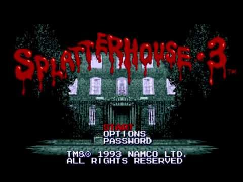 Let's Play Splatterhouse Classics - SH3 Stage 1