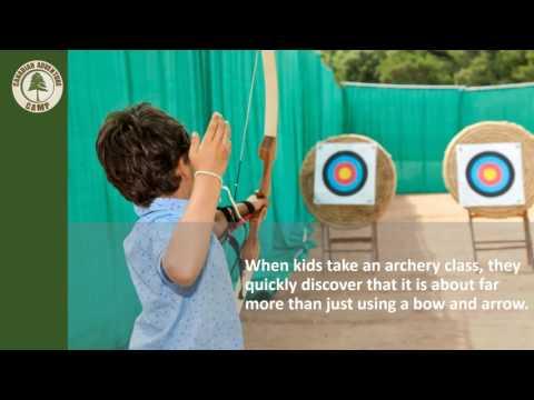 Sharpening Archery Skills At Summer Camp