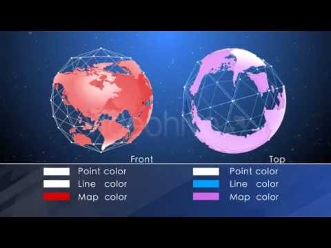 Free Download After Effects Intro Globe Elements After Effects Template