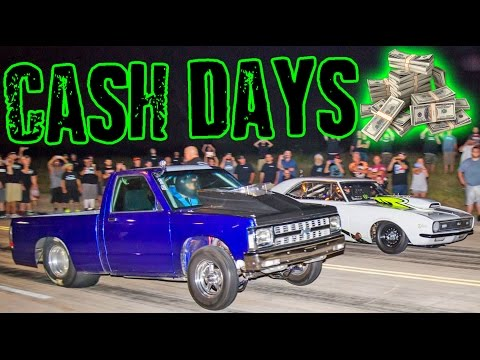Street Outlaws CASH DAYS 2016 - Back to the STREETS!