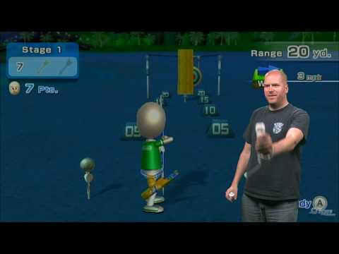 Wii Sports Resort: 1:1 Archery Motion Plus Demo