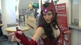 Super Hot Scarlett Witch at WonderCon 2014!!!!