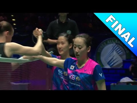 Yonex All England Open 2017 | Badminton F | Chang/Lee vs Juhl/Ped [HD]
