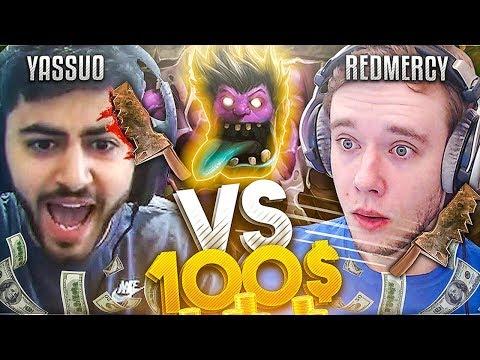 [NEW SERIES] REDMERCY vs YASSUO! MUNDO DODGEBALL $100 1v1!! - League of Legends