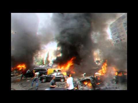Explosion 'rocks Beirut suburb'