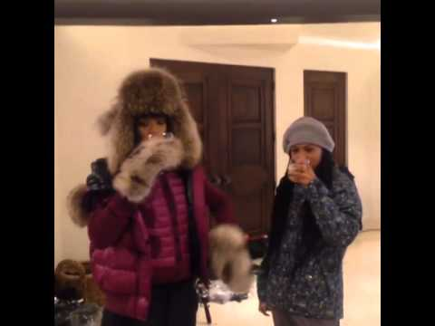Rihanna Birthday in Aspen 2014