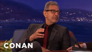 Jeff Goldblum On Circumcision  - CONAN on TBS