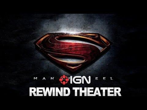 Man of Steel Teaser Trailer - IGN Rewind Theater