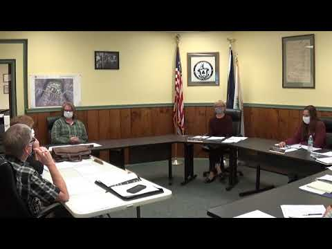 Champlain Village Board Meeting 9-14-20