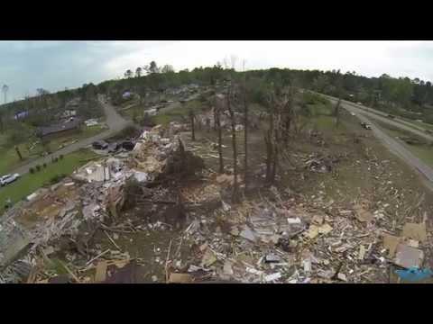 Tupelo Tornado Damage (Skymastersphotography.com)