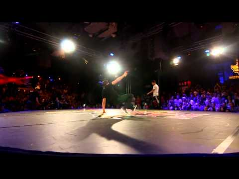 Red Bull BC One 2012 - Western European Qualifier - Final - Khalil vs Mounir
