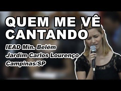 Kelle Silva Quem me vê cantando (Samuel Mariano)