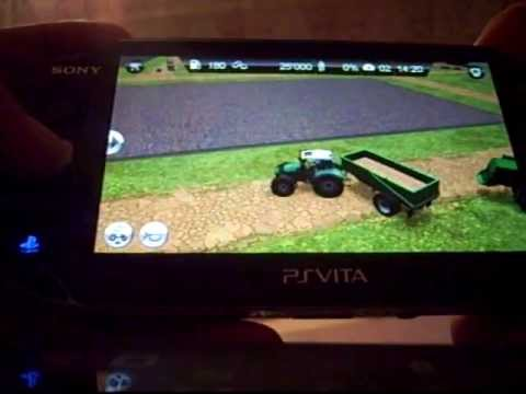 Farming Simulator PS Vita Demo Gamplay