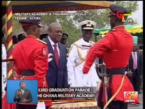 Ghana Military Academy Graduation Parade