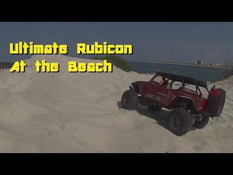 Axial Ultimate Rubicon Beach Fun Day #30