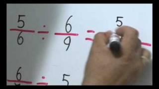 MULTIPLICACION Y DIVICION DE FRACCIONES PARTE 2 3º prim Aritmetica