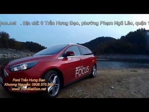 Ford Focus 2016 linh hoạt trong các đường nhỏ hẹp
