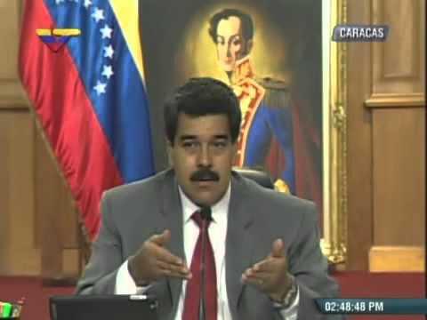 Rueda de prensa completa de Nicolás Maduro este 14 de marzo 2014