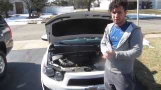 Chevy Sonic KN Air Filter Install Tutorial
