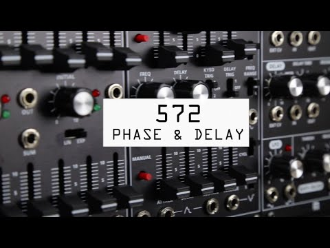 Roland System 500 Modular Synth - 572 Phase Shifter, Delay & LFO Module