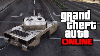 GTA 5 Online: CHROME TANK ONLINE! How To Get A CHROME
