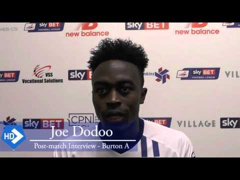 VIDEO: Ghanaian prodigy Joe Dodoo thrilled with scoring in his debut for English side Bury