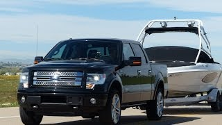 2014 Toyota Tundra Vs Ford F-150 Vs Ram 1500 0-60 Towing