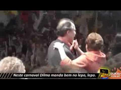 DILMA ROUSSEFF ARREBENDA NO LEPO LEPO 2014 | js! FOLÍA