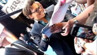 Pirates Johnny Depp Sign & Speak French