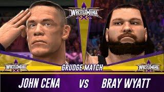 WWE 2K14 Wrestlemania 30 John Cena Vs Bray Wyatt