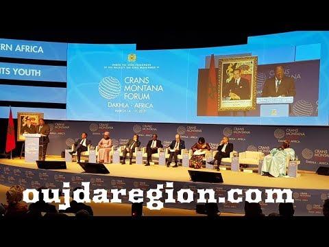 صوت وصور..من الداخلة،الملك محمد السادس:المغرب يده ممدودة إلى كافة نظرائه الأفارقة وبجب العناية بالشباب الافريقي