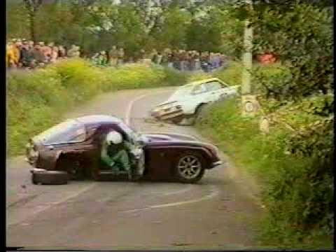 tvr crash at monteberg rally 1998 youtube. Black Bedroom Furniture Sets. Home Design Ideas