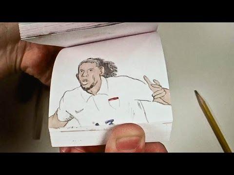 USA vs. Portugal 2014 World Cup Flipbook Animation