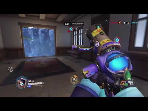 Me Struggling on Mystery Heroes. Overwatch Funny gameplay