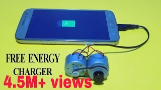 Free Energy MobilePhone Charger