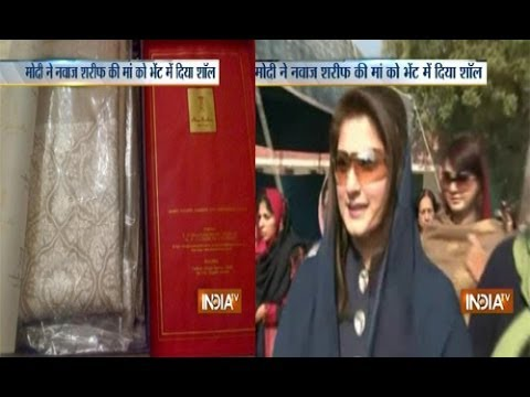 Nawaz Sharif's daughter thanks Modi for his gift for her grandmother
