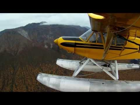 Float-plane flying in the Alaskan Fall 9-16-11