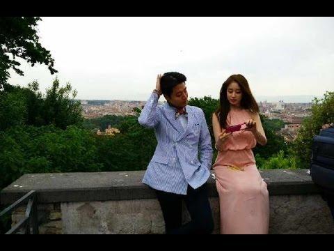 Jiyeon and Lee dong gun