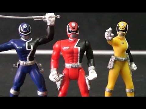 đồ chơi siêu nhân deka 파워레인저 SPD 피규어 장난감 Deka Rangers Toys