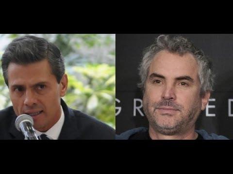 Alfonso Cuaron Pide a Peña Nieto responder 10 preguntas sobre La Reforma Energetica