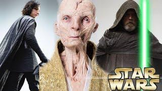 NEW Last Jedi LEAKED Images! Snoke Was Human!? (Link in Description)