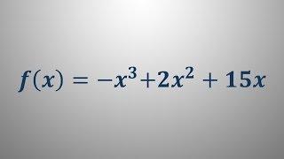 Ekstremi funkcije 2