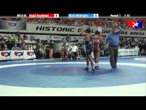 FS 55 KG - QF - Angel Escobedo vs. Mark McKnight (NLWC)