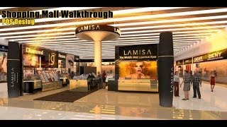 [Shopping mall, POS design walkthrough presentation vedio] Video