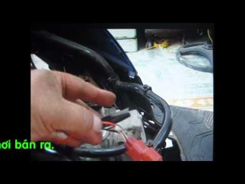 Cách lắp khóa chống trộm Thương Hiệu Phạm Gia cho xe HONDA Vision
