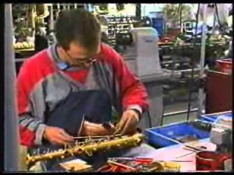 Fabricación saxos J.K.
