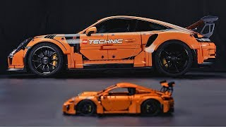 Porsche 911 GT3 RS – LEGO Technic – Original vs. Replica. YouCar Car Reviews.