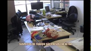 Quadrilha de tr�fico de drogas � presa em Betim